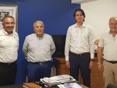 Dalaman İlçe Milli Eğitim Müdürü Taner Şen'den Mustafa Altaş'a anlamlı Ziyaret