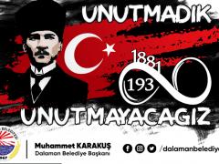 """Muhammet KARAKUŞ; """"Unutmadık, UNUTMAYACAĞIZ!"""""""