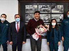 Başkan Karaca'ya Dünya Gümrük Günü Ziyareti