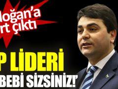 Erdoğan'a Sert Çıktı!!!